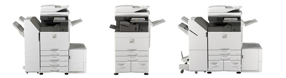 Used Sharp business copiers