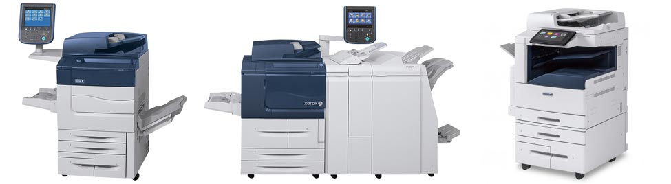 Used Xerox copiers header photo